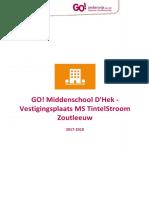 Schoolreglement TintelStroom 2017 2018