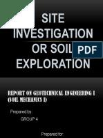 Soil Mech Report