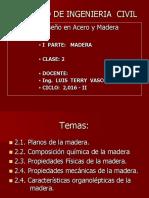 Clase 2. Madera