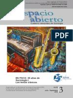 SEOANE, Javier - Una Sociología Dialógica y Crítica (Espacio Abierto, 2016)