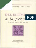 Carpintero - Del Estímulo a La Persona