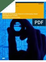 Guide for Enterprise Search in Enterprise Asset Management (EAM)