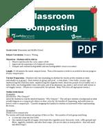 Classroom Composting - Bobbie Big Foot