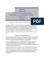 Standard NFPA 654 - 2006