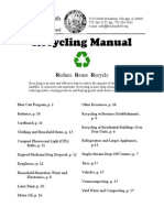 Recycling Manual - Chicago, Illinois USA