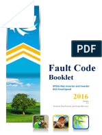 Dunham Bush Fault Codes