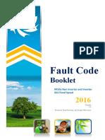 Dunham Bush Fault Codes