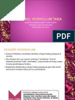 Model Kurikulum Taba