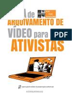 Guia de arquivamento de vídeos para ativistas