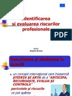 Identificarea Si Evaluarea Riscurilor Profesionale