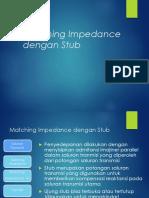 Matching Impedance Dengan Stub