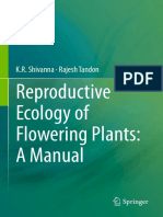 K.R. Shivanna, Rajesh Tandon (Auth.)-Reproductive Ecology of Flowering Plants_ a Manual-Springer India (2014)