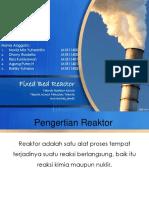 Reaktor Fixed Bed