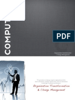 Organizational Transformation and Change Management Case Studies
