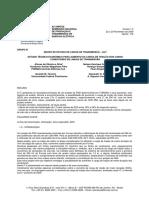 Estudo Técnico Econômico Para Aumento Da Carga de Tração Dos Cabos Condutores de Linhas de Transmissão