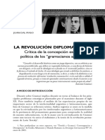 La Revolución Diplomatizada