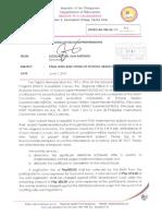 Regional Memorandum No. 300 s.2017