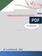 Pemilihan Indikator Mutu RS