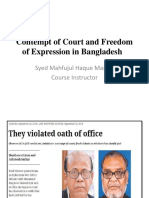 Contempt of Court in Bangladesh