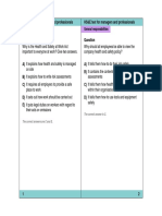 Health, Safety and Environment Test - Print Out