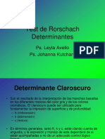 Test de Rorschach Determinantes_ c,k,K