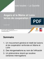 Présentation de Pierre Le Lann sur Angers Loire métropole