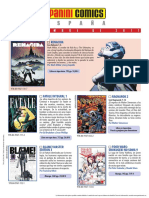 Novedades Panini Comics Septiembre 2017 parte 2