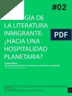 Apología de La Literatura Inmigrante
