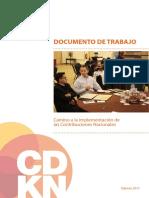 Documento de Trabajo Camino a La Implementación de Contribuciones Nacionales