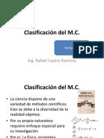 Clase 6. Clasificación Del M.C.