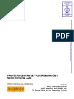Proyecto centro de trasnformación y medai tensión .pdf