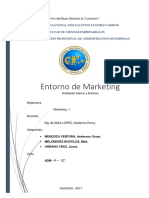 Entorno Del Sistema de Marketing