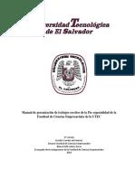 Manual Presentación Trabajos Escritos Preespecialidad Marzo 2017 (1)