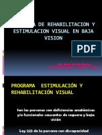 Programa Estimulacion y Rehabilitacion Visual