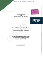 Expert Report of Jeffrey H. Sloman, Esq. (01967473xA9CE2)