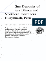 Depositos Pb-Zn Cordillera Blanca