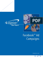 Facebook Ad Campaigns Blue Paper