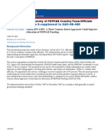 PEPFAR Country Managers Survey/ Peace Corps Volunteers program
