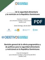 Situación de la seguridad alimentaria y la nutrición en la República Dominicana - Pavel Isa