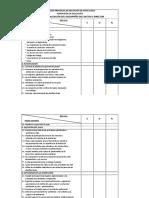 Matriz de Evaluación Del Desempeño Del Rector - Director