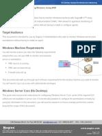 Monitoring Windows Using WMI and Nagios XI