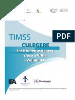 TIMSS Culegere Instrumente 8 v1