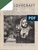 History of the Necronomicon H P Lovecraft
