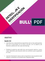 Detección e Identificación BULLYING