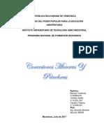 Petroleo y Minas