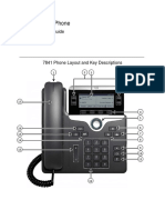 7841 Cisco IP Phone Quick Reference Guide