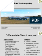 Large Scale Vermicomposting