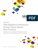 Infoblox Whitepaper DNS Appliance Best Practices 0