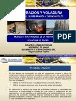 MODULO I. APLICACIONES DE LA PERFORACION Y VOLADURA DE ROCAS.pptx