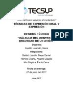 Informe Tecnico Oficial Balde n - Herrera - Mar.